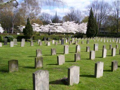 Frühlingsblüte auf dem Fössefeldfriedhof