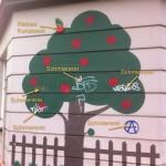Apfelbaum in der Pavillonstraße