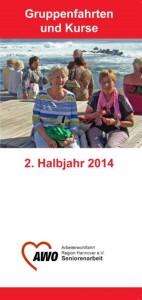 Programmheft 2. Halbjahr 2014 AWO Seniorenarbeit