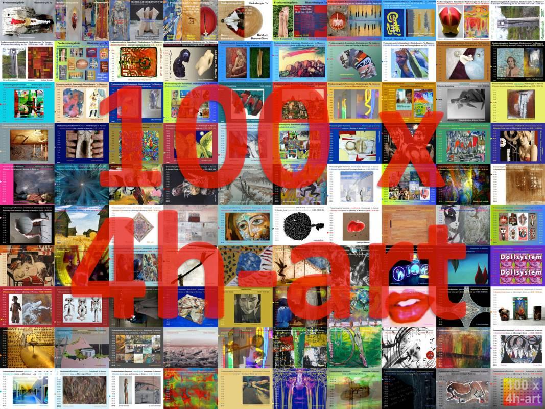 100 x 4h-art