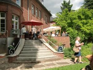 Garten des Gemeindehaus St. Martin