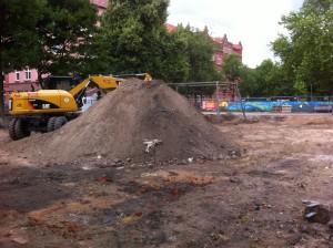 Umbau Pfarrlandspielplatz