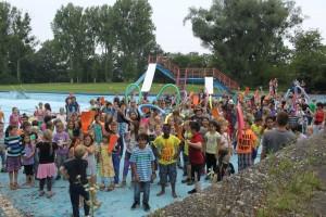 Protest der Albert-Scheitzer-Schule