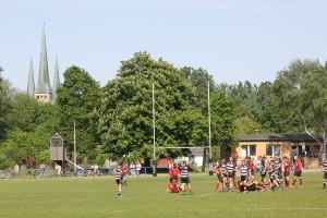 Sportplatz von Victoria Linden