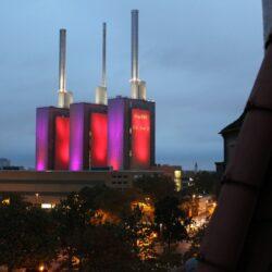 Heizkraftwerk Linden – drei warme Brüder