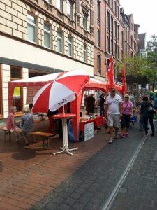 SPD Stand auf dem Limmerstraßenfest