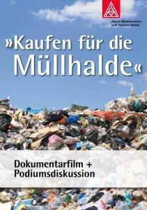 Kaufen für die Müllhalde