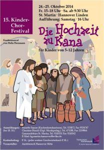 Die Hochzeit zu Kana - 15. Kinderchor-Festival
