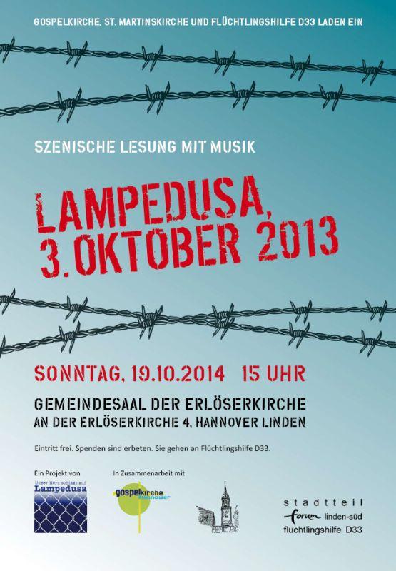Unser Herz schlägt auf Lampedusa