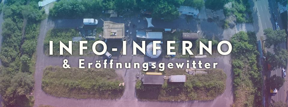 Info-Inferno & Eröffnungsgewitter · PLATZprojekt Infoveranstaltung