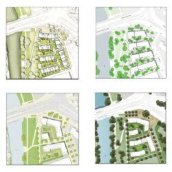 Entwürfe für das Wohnprojekt Ohestraße