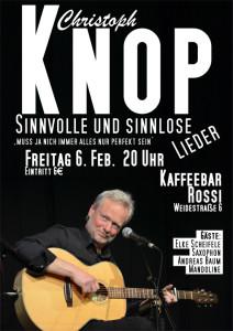 Christoph Knop - sinvolle & sinnlose Lieder