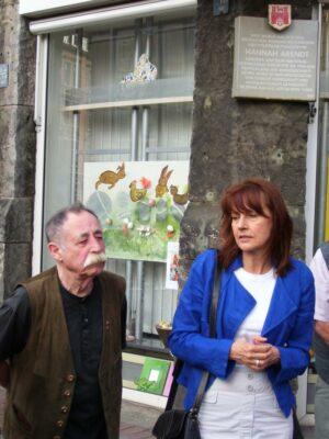 Egon Kuhn und Edelgard Bulmahn