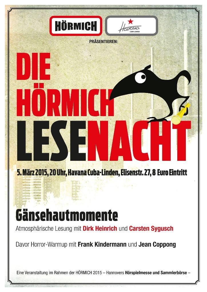 HÖRMICH-Lesenacht