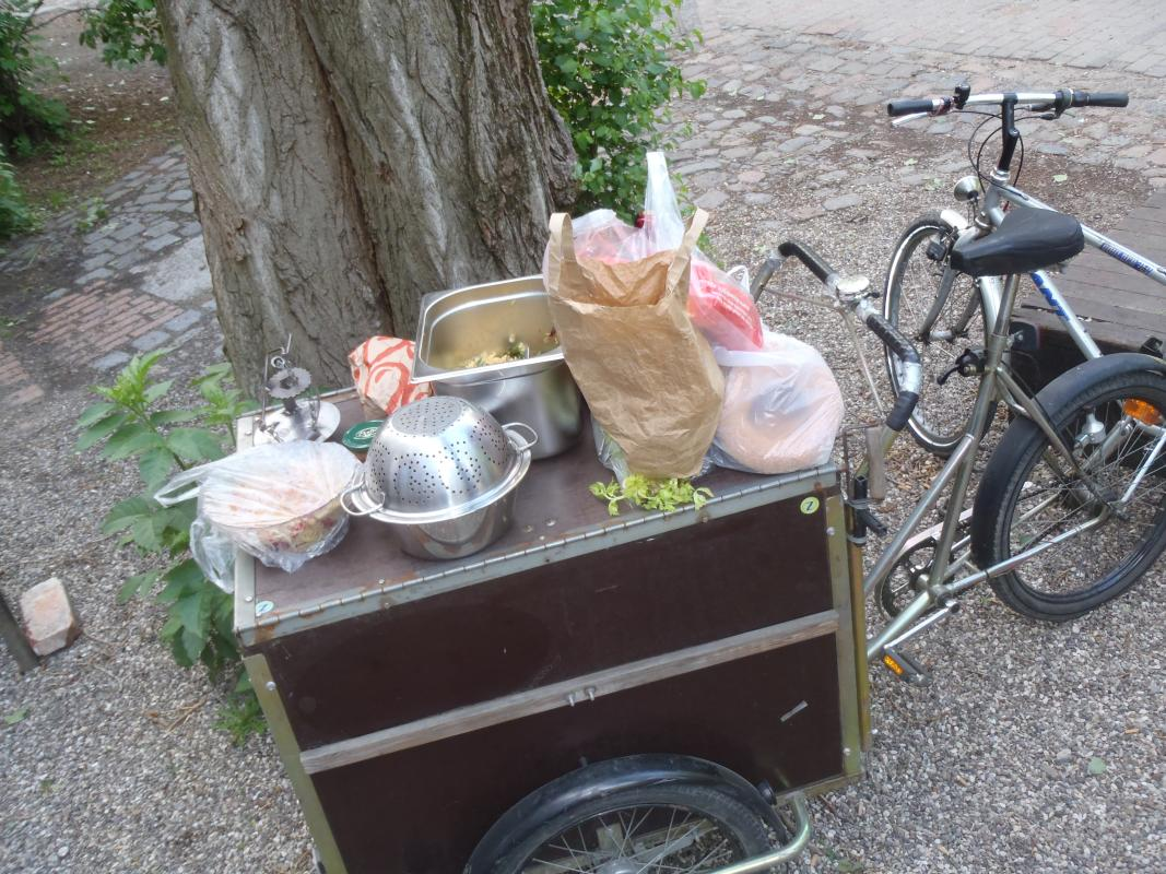 Christiania-Lastenfahrrad