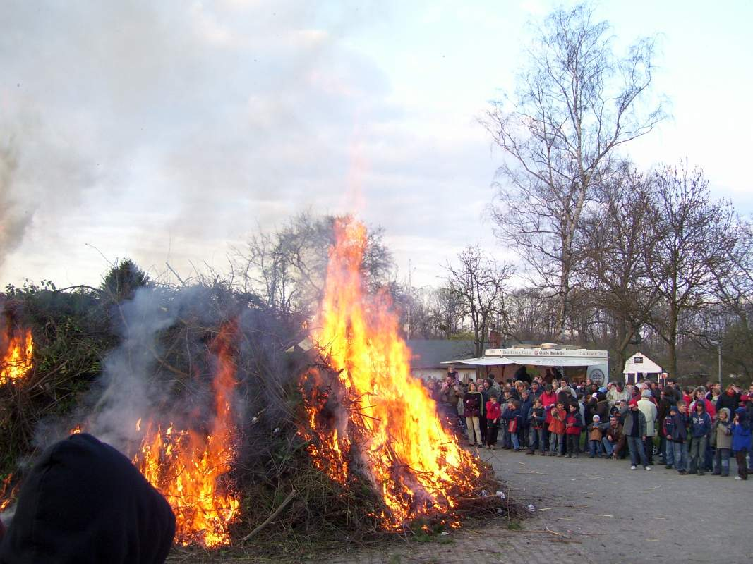 Osterfeuer 2019 hannover