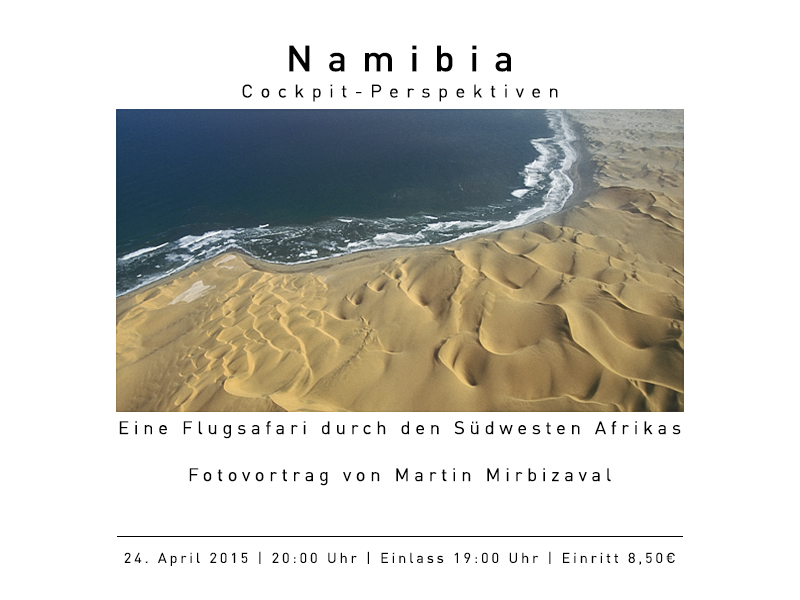 Namibia - Cockpit - Perspektiven
