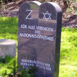 Gedenkstein am Bahnhof Fischerhof