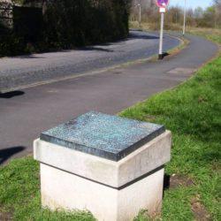 Gedenkstein für das KZ Limmer