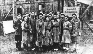 Häftlinge im KZ Limmer
