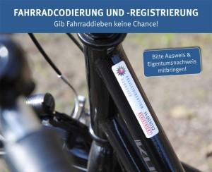 Fahrradcodierung 2015