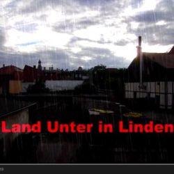 Land unter in Linden