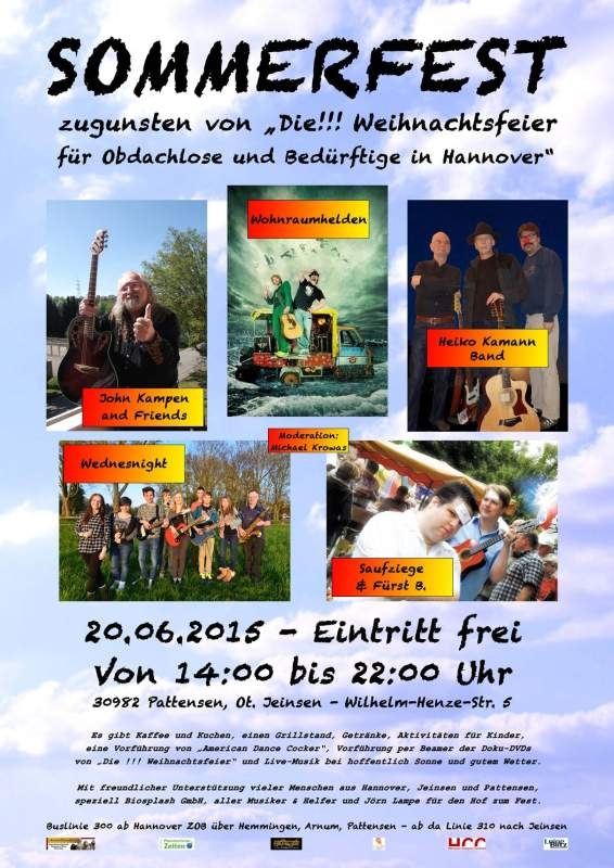 Benefiz-Sommerfest