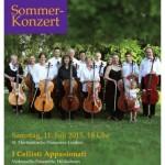 "Sommerkonzert mit ""I Cellisti Appassionata"""