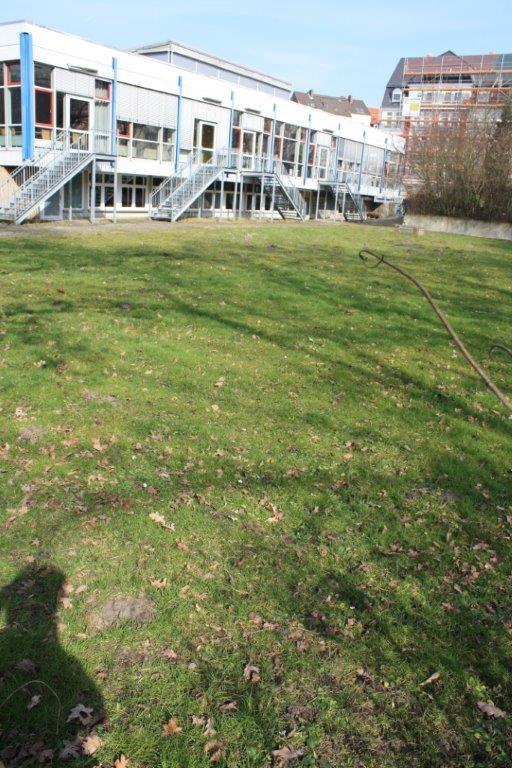Grünfläche des Freizeitheim Linden