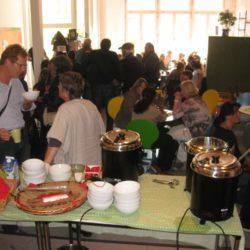Familienfrühstück im Cafe Allerlei