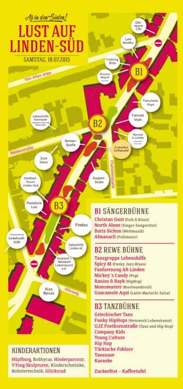 Lust auf Linden-Süd - Deisterstraßenfest 2105
