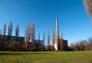 Soll im Frühjahr 2016 saniert werden: das Kesselhaus der ehemaligen Bettfedernfabrik Werner & Ehlers auf dem Faust-Gelände