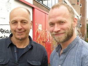 Freuen sich auf die Zusammenarbeit: Kunsthallen-Kurator Harro Schmidt und der Tänzer und Choreograf Felix Landerer