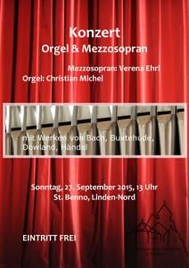Konzert OrgelBenno