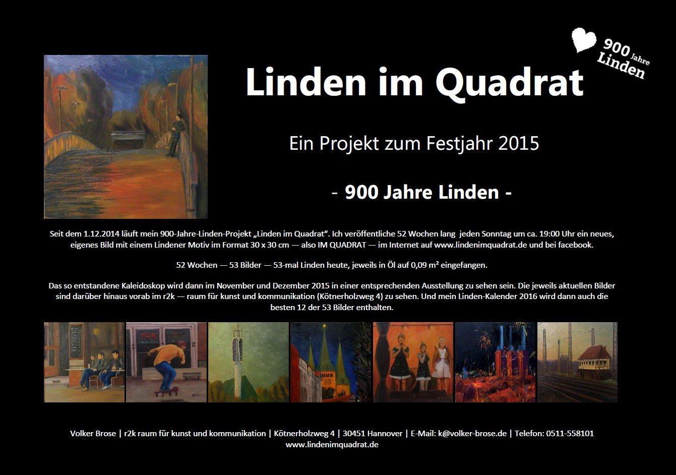 Linden im Quadrat