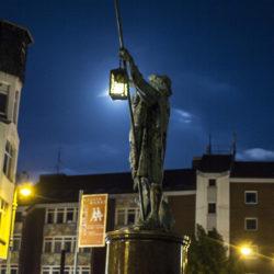 Lindener Marktplatz - Nachtwächter Brunnen (Foto: Athanassios Psirras)
