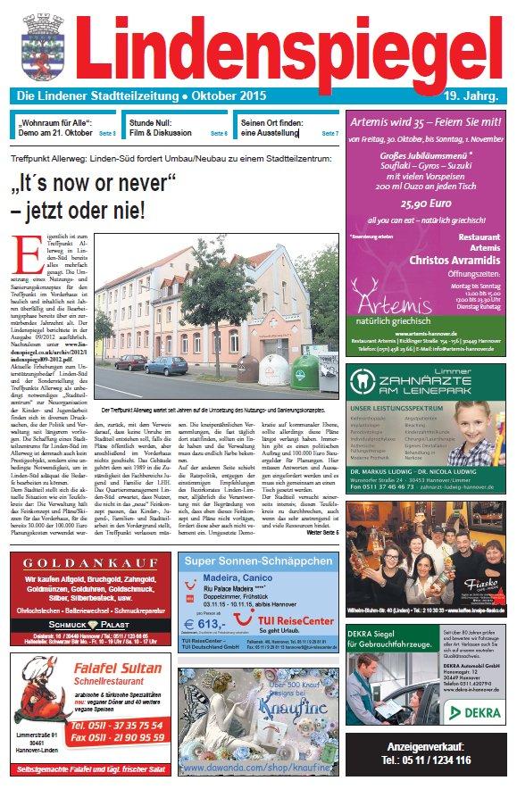 Lindenspiegel - Die Stadtteilzeitung seit 1997