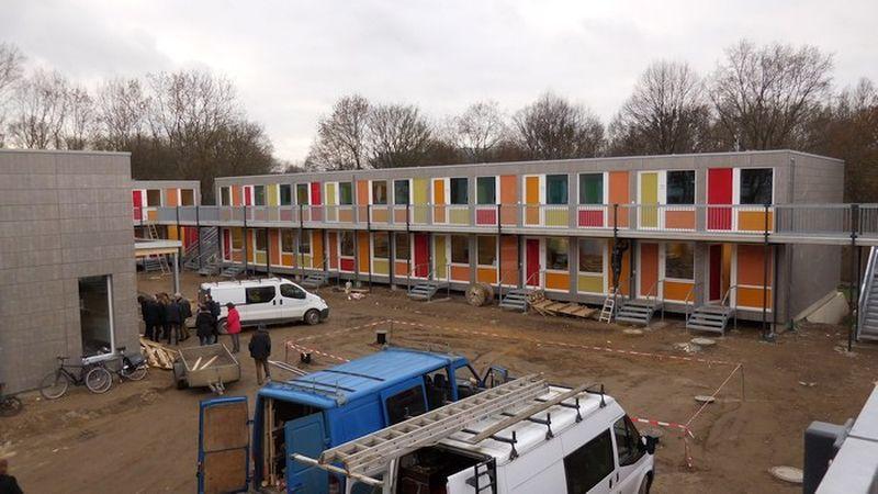 Flüchtlingsunterkunft an der Steigertahlstraße