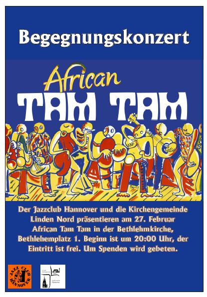 Begegnungskonzert mit African Tam Tam