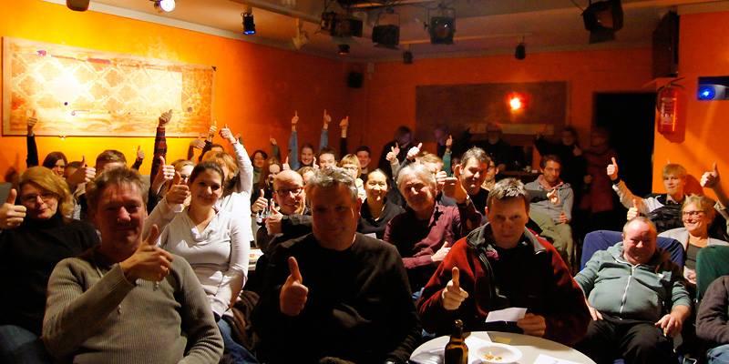 Begeisterte Zuschauer beim ersten Oscar – Kurzfilmabend