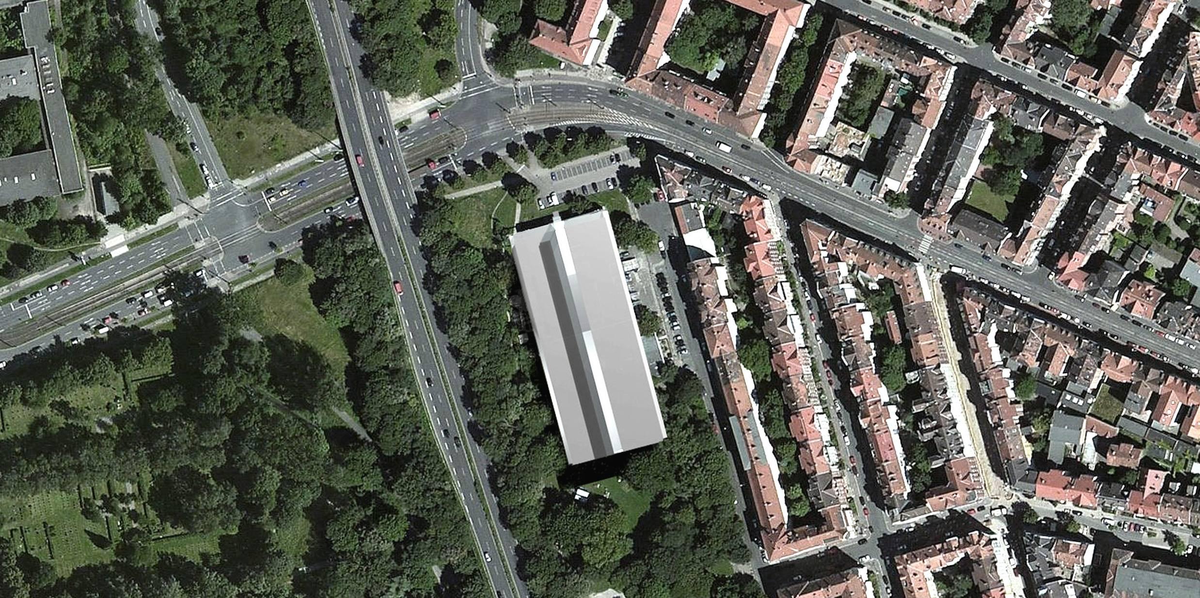 Luftbild LernortLindenLimmer (VIER LINDEN ARCHITEKTEN & INGENIEURE)
