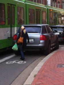 An Markttagen gerne mal Ausweichparkplatz