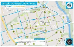 hannovercylcechic: Verkehrskonzept Linden-Mitte