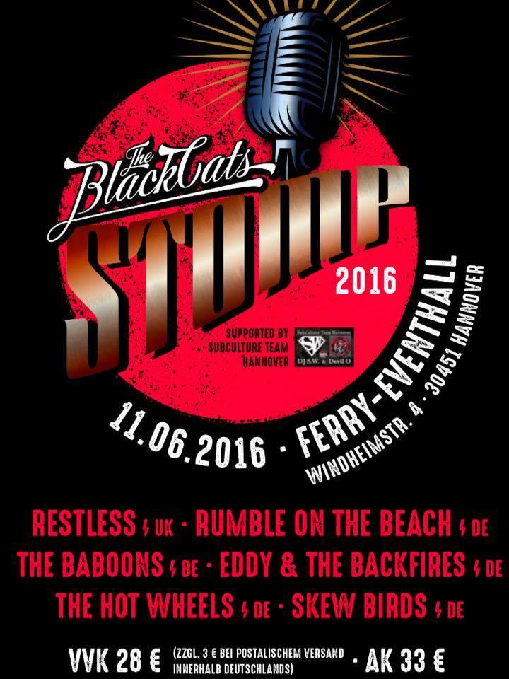 Black Cats Stomp 2016