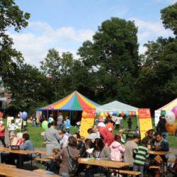 Familienfest im Von-Alten-Garten