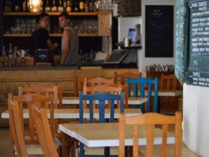 Geeigneter Standort für ein Cafe