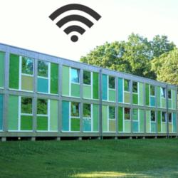 Internet für die Flüchtlinge in der Steigerthalstraße