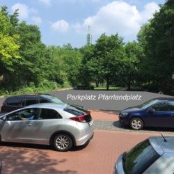 Pfarrlandplatz wird Parkplatz (Foto: hannovercyclechic)