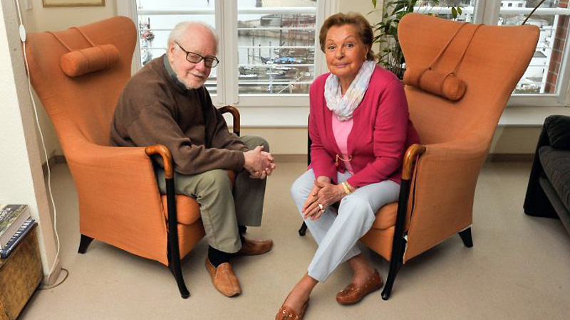 Nadja Tiller und Fritz Lichtenhahn (Foto: Jürgen Joost)
