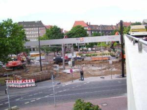 Ob die umfangreichen Bauarbeiten wohl wieder so wie 2008 aussehen?